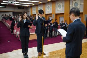 인권경영헌장 선포식 및 가족친화 우수기관 현판식