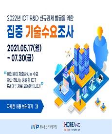 2022년도 ICT R&D 기술수요조사